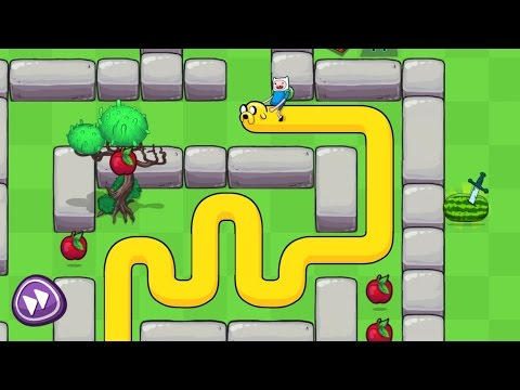 Treasure Fetch - Adventure Time Snake Game App for Kids by Cartoon Network