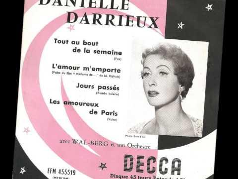 "Danielle Darrieux "" interview ""  1960"