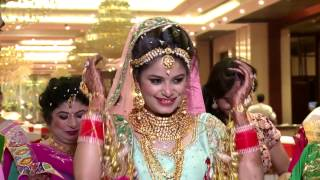 wedding highlight || JUHI & SWARN || din shagna da