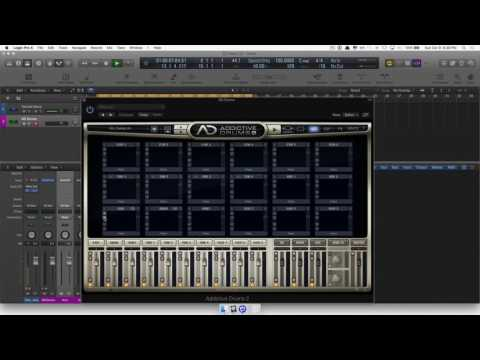 Custom Drums in Addictive Drums + Logic Pro X