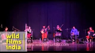 Musical concert by Folk Nations group in India