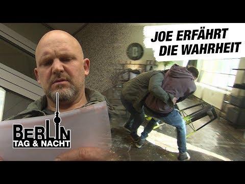 Berlin - Tag & Nacht - Joe erfährt von Davids Plan 1694 - RTL II