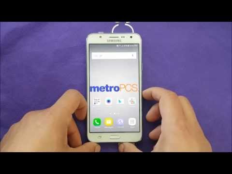 Samsung Galaxy J7  unboxing And First Look For Metro Pcs\T-mobile