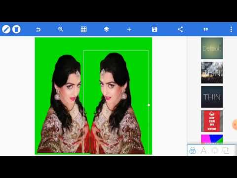 How To Joint Picture Editing Green Background | Picsart Background Change #600
