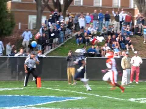 McDonogh at Gilman football clip 2 Troy Vincent 24 yard TD run 10 27 12