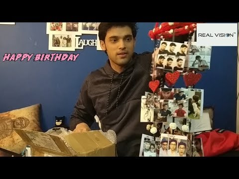 Parth Samthaan Birthday Gifts Segment Part 1(1)  Fans Love #ParthSamthaan With REAL VISION 2