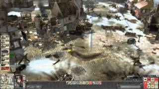 Faces of War - German campaign walkthrough - Mission 4 - Wiltz 2/3 [HD]