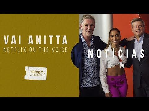 🔴 Vai Anitta no Netflix, The Voice, Veneno e Medicina - TICKET CHANNEL #82