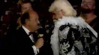 WWF Ric Flair Ted Dibiase Team Promo