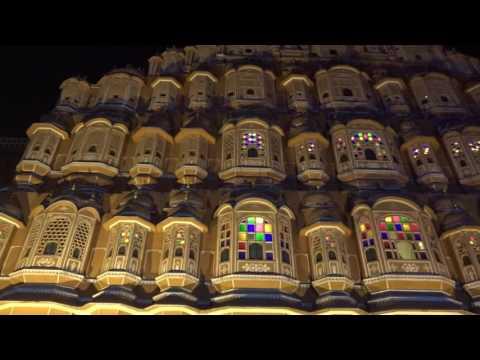 Diwali Jaipur 2016 Heritage Jalmahal Hawamahal AlbartHall IsarLat