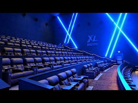 Exclusive Palms Theatres & IMAX Video Tour