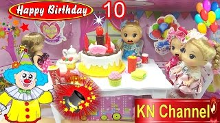 KN Channel tổ chức tiệc sinh nhật tháng 10 BIRTHDAY PARTY TOYS | Bé Na LÀM ẢO THUẬT  | Bố là tất cả