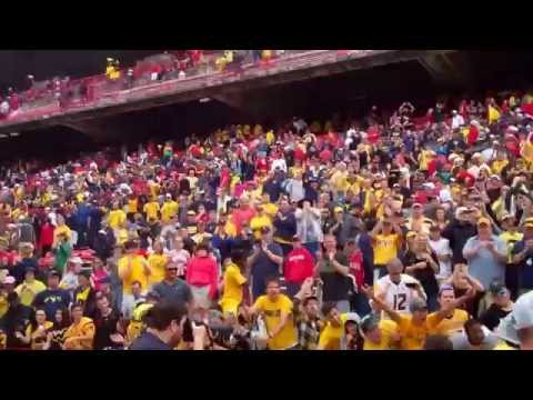 WVU Maryland Postgame Celebration
