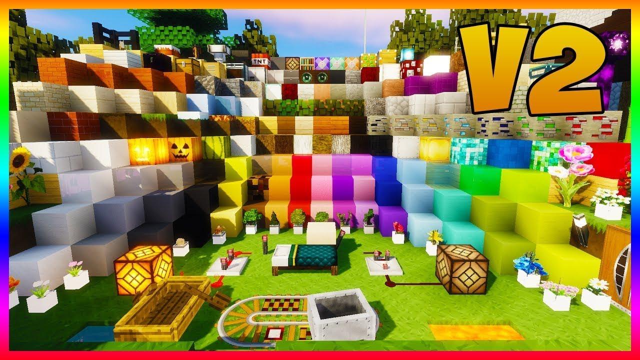 Mon Pack De Texture Moderne V2 Minecraft Youtube