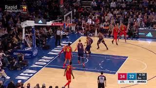 Atlanta Hawks vs New York Knicks Full Game Highlights | Feb 4, 2018 | NBA Season 2017 18