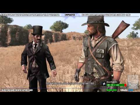 Blind/First Playthrough   People Die In This. / Red Dead Redemption - Ep 2 [PS3]