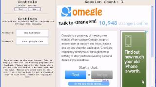Omegle Bot Beta - Chronine by xChroninex