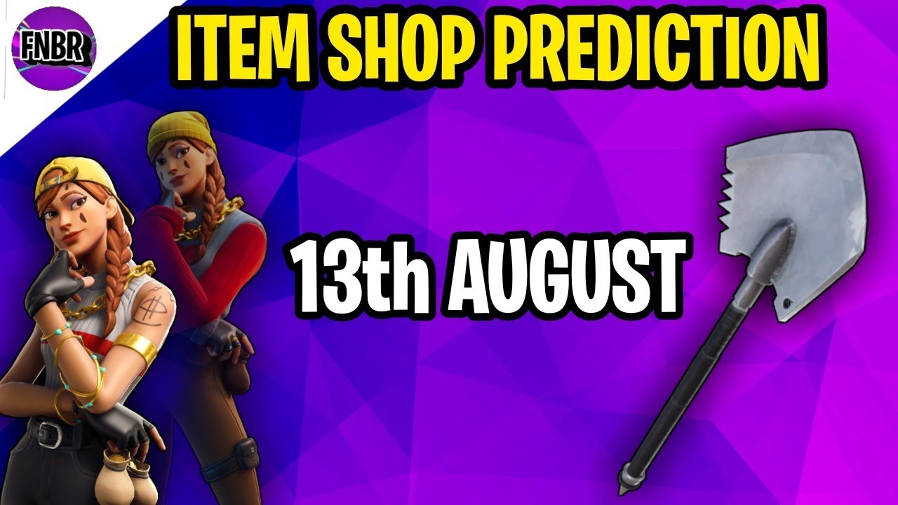 Fortnite Item Shop Prediction - August 13th 2020