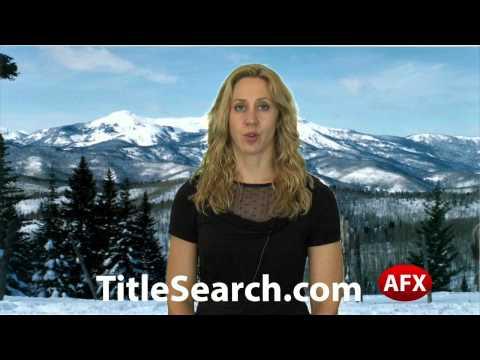 Property title records in Las Animas County Colorado | AFX