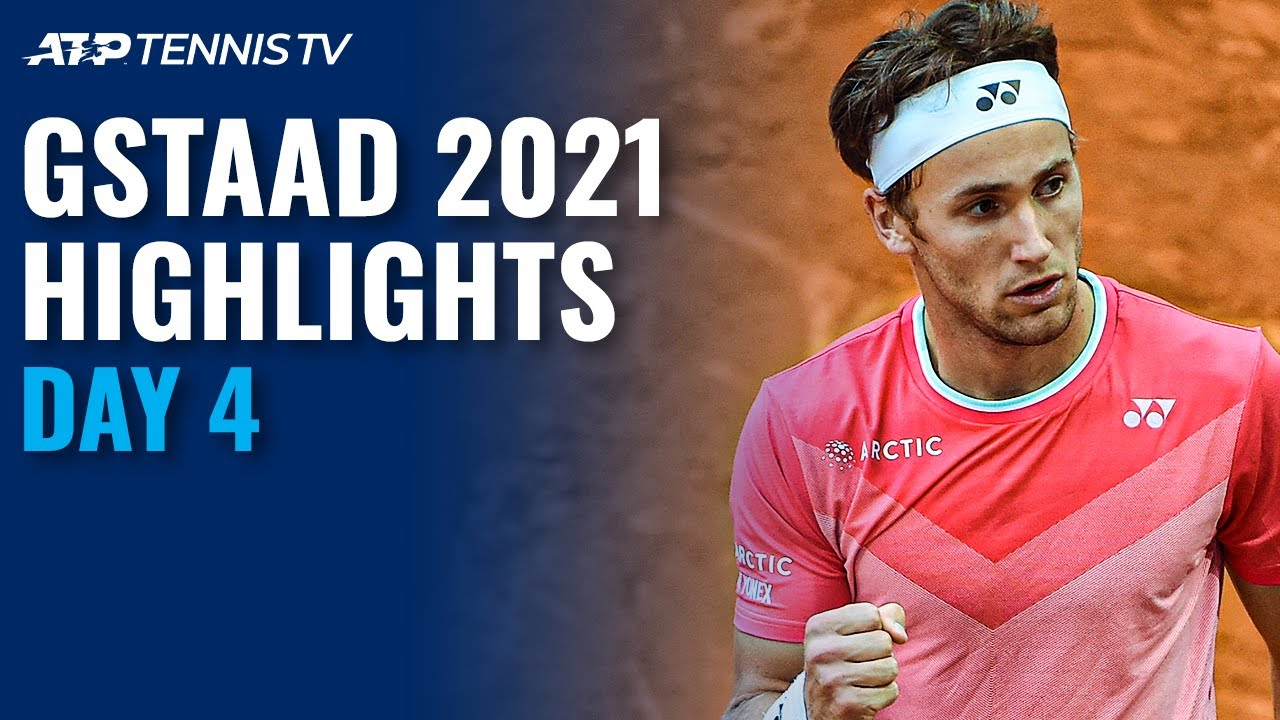 Download Shapovalov Battles Kopriva; Ruud, Paire and Lopez In Action | Gstaad 2021 Highlights Day 4