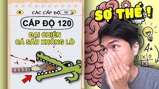 ĐẠI CHIẾN CÁ SÂU CHƯA BAO GIỜ NGUY HIỂM NHƯ THẾ !!! (cực căng cực hay) | Brain test #4 ✔