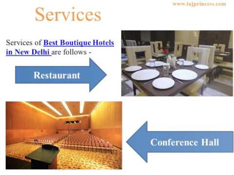 Hotel Taj Princess - Best Boutique Hotels in New Delhi