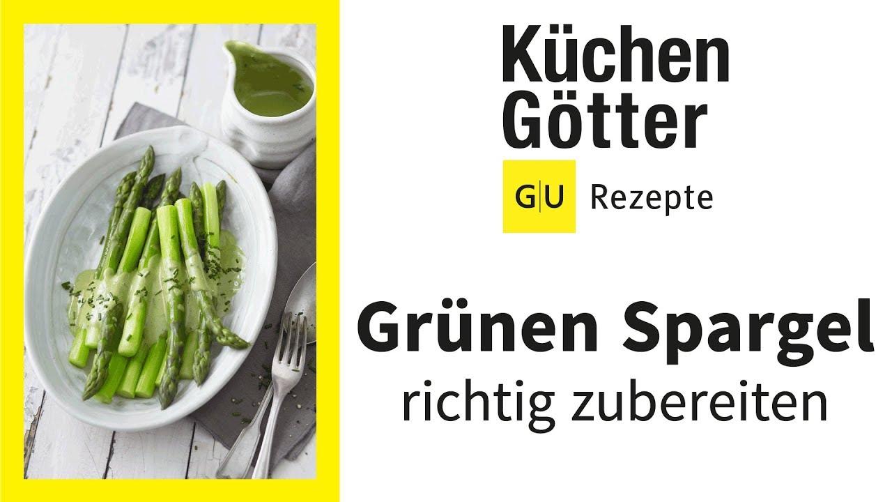 Grünen Spargel Kochen 2 Zubereitungsvarianten Für Grünen Spargel