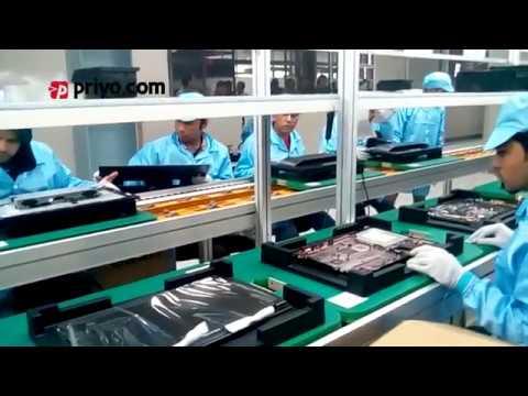 Inside Walton Computer Manufacturing Plant