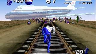 """[TAS] PSX Pepsiman: The Running Hero """"100%"""" by N?K in 19:32.45"""