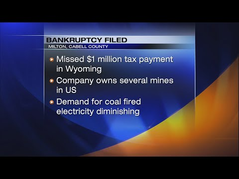 WV Coal Mine Files For Bankruptcy