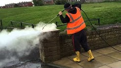 Jet washing high pressure steam cleaning West Yorkshire