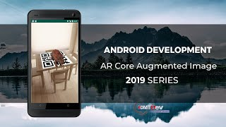 Android Studio Tutorial - AR Core Augmented Afbeelding