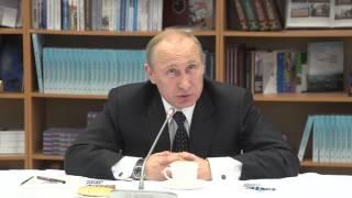 Президент России обсудил со студентами САФУ развитие арктических территорий