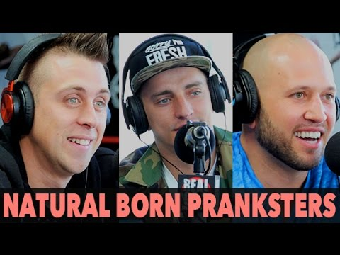 Roman Atwood, Vitaly & Dennis Roady of New Movie Natural Born Pranksters (Full Interview) | BigBoyTV