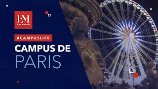 Bienvenue sur le campus de Paris de l'EM Normandie !