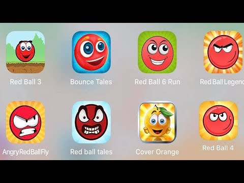 Red Ball 4,Red Ball 6 Fun,Redball Legend,Ball 3,Bounce Tales,Angry ball,Red Ball Tales,Cover Orange