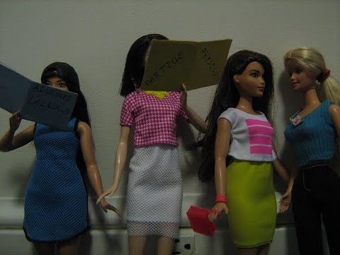 Menstruation Frustration: A Barbie Stop Motion Cartoon [RATED PG-13]
