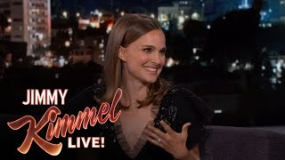 Natalie Portman on Etiquette in France by : Jimmy Kimmel Live
