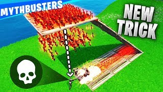 Trap Method you NEVER Seen Before!! - Fortnite Daily Mythbusters Ep.3