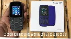 Nokia 105 4th Edition 2019 Unboxing and Review