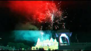 Diwali Fireworks at BAPS Swaminarayan Temple Atlanta 2017