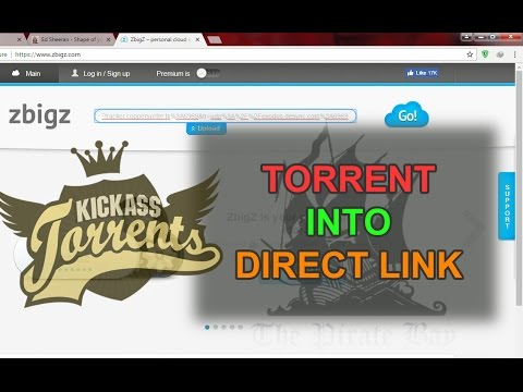Convert torrent to direct download free