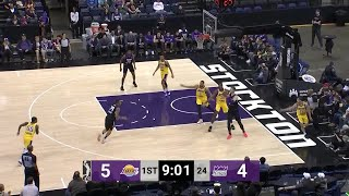 Robert Franks (27 points) Highlights vs. South Bay Lakers