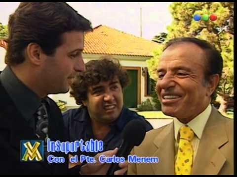 Carlos Menem Parte 1 - Videomatch 98