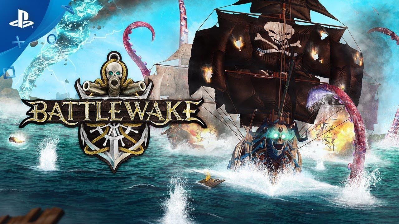 Battlewake - E3 2019 Announcement Trailer   PS VR
