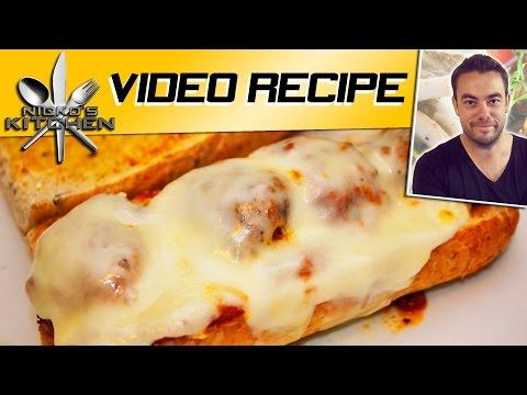 MEATBALL SUB (Subway Style) - VIDEO RECIPE