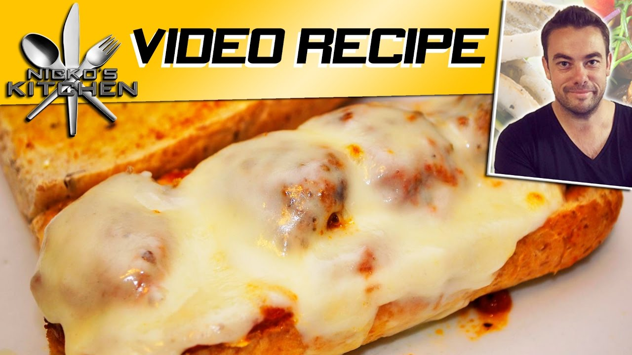 How To Make Subway Meatball Sub Youtube