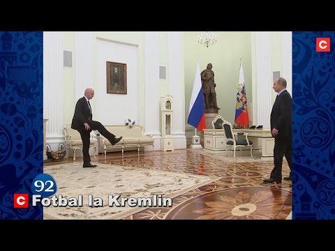 Fotbal la Kremlin