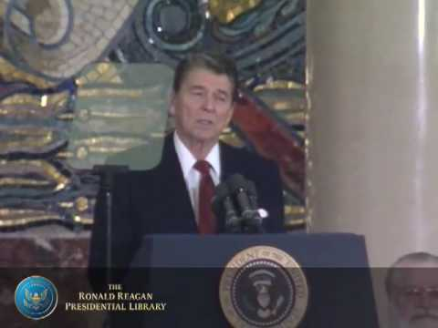 Moscow State University: President Reagan