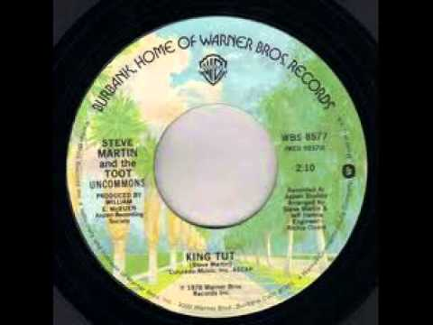 """""""King Tut"""" - Steve Martin & The Toot Uncommons (1978 Warner Brothers)"""